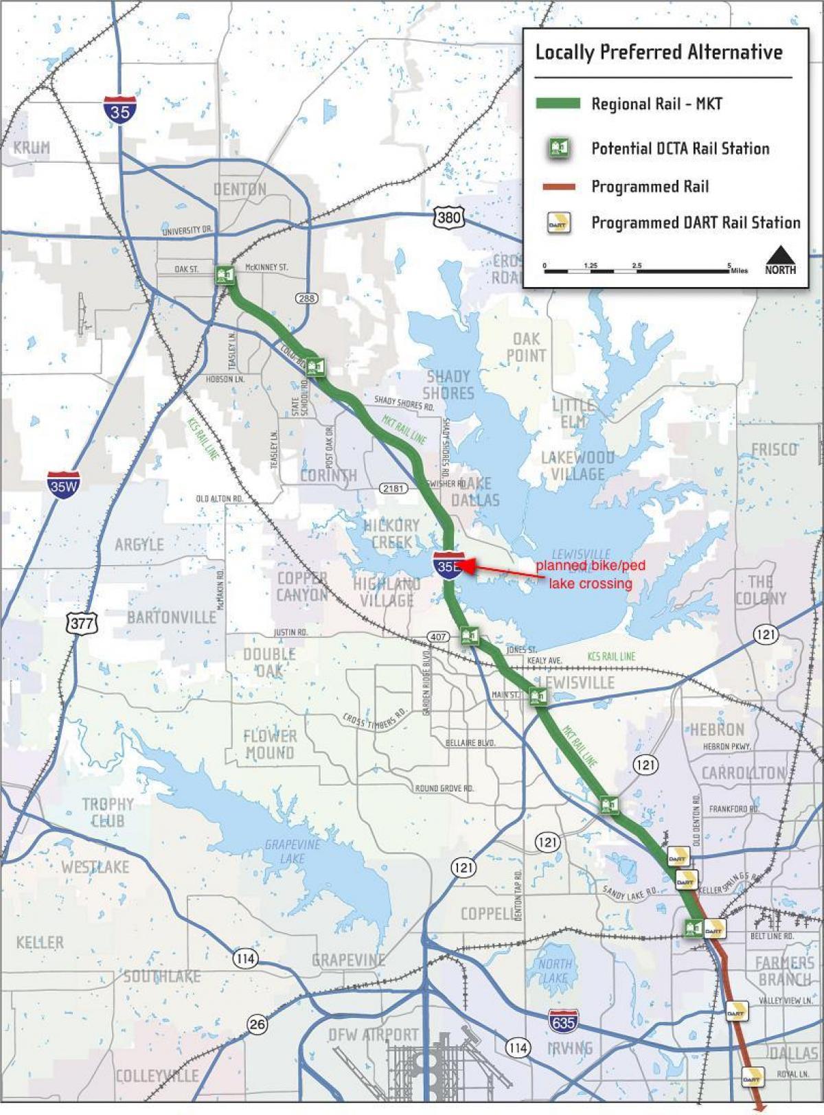 tog kart Dallas tog kart   Dallas jernbanestasjon kart (Texas, USA) tog kart